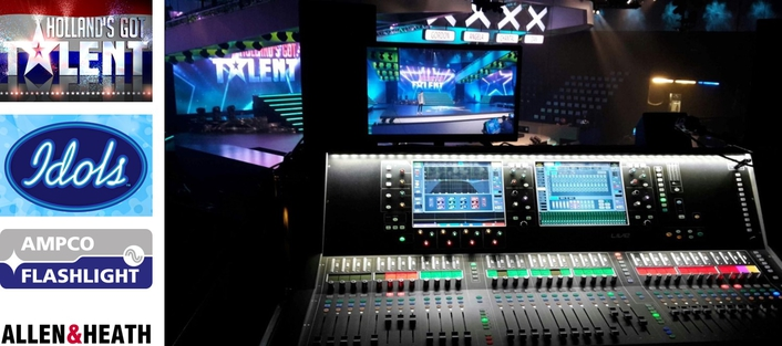 AMPCO SELECTS DLIVE FOR TV PRODUCTION