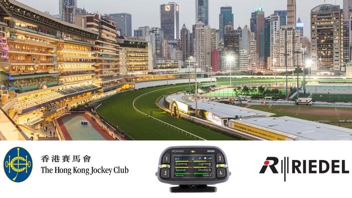 Hong Kong Jockey Club Chooses Riedel's Bolero for Seamless Wireless Comms