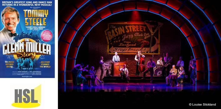 HSL Boards Chattanooga Choo Choo  for Glenn Miller Story Tour