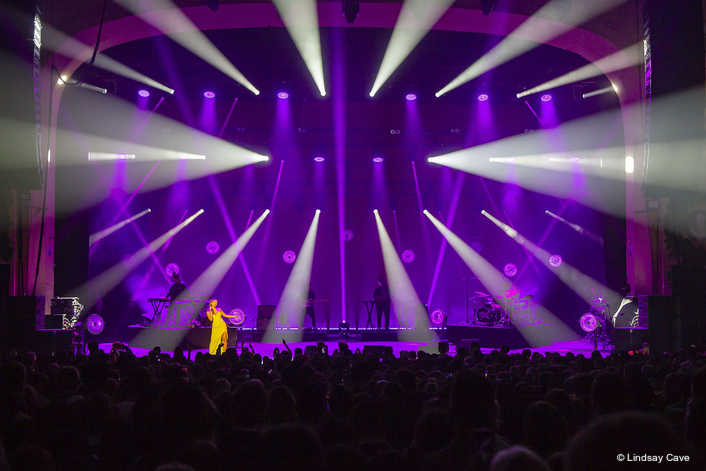 HSL Gets the Blue Lights for Jorja Smith Tour