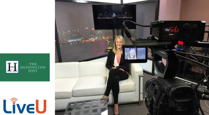 LiveU Solo Helps The Huffington Post Live Stream HD Content Directly to Facebook