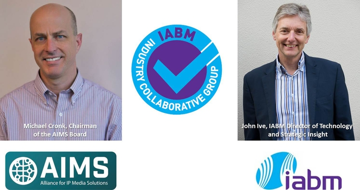 AIMS first organization to receive IABM Industry Collaborative Groups (ICG) Endorsement