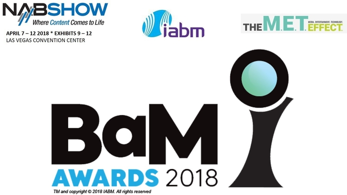 Shortlist announced for IABM Broadcast and Media Awards