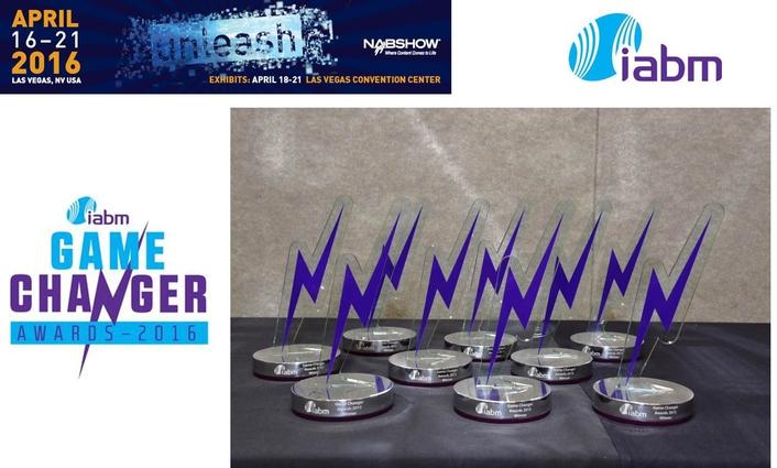 IABM rewards Game Changers at NAB Show