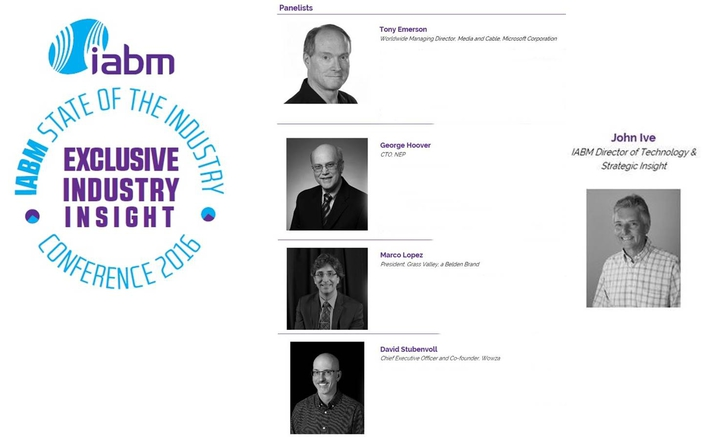 IABM announces panel for State of the Industry Conference session at NAB Show