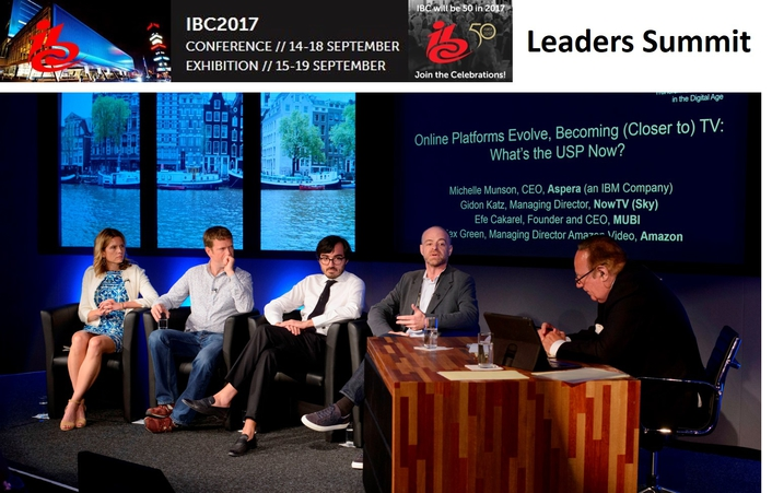 Industry leaders gather at IBC Leaders' Summit to discuss transformation, growth and reinvention