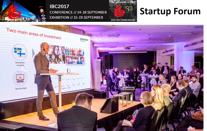 IBC to facilitate new media partnerships and investment opportunities with Startup Forum