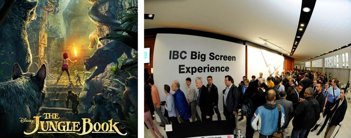 Clear-Com demonstrates versatility via a multitude of applications at IBC's Big Screen Experience, Award Ceremony, Cinema and Conference