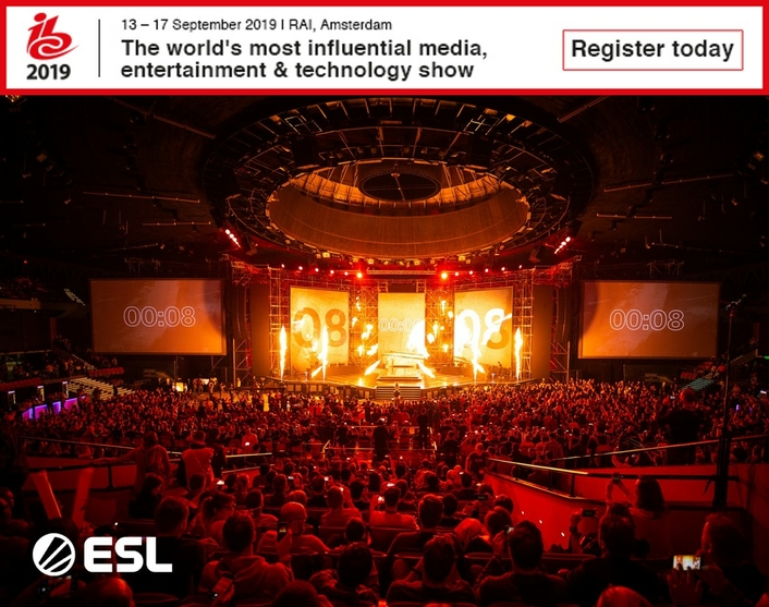 IBC2019 to feature new Esports Showcase and live esports tournament