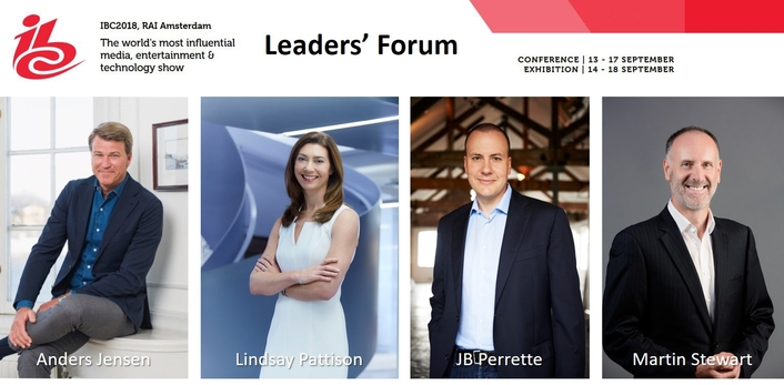 See where the future unfolds at the IBC2018 Leaders' Forum