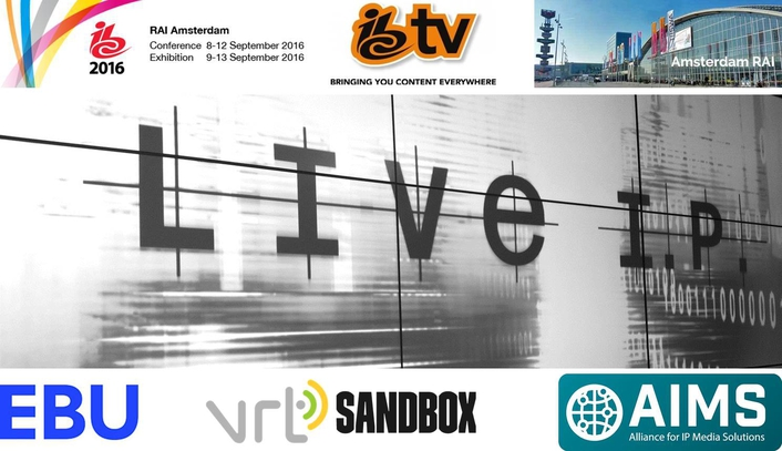 IBC TV to use the VRT-EBU LiveIP Studio at IBC 2016