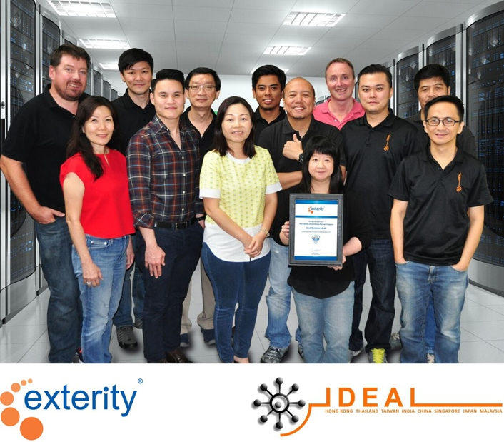Ideal Systems partners with Exterity for South East Asia