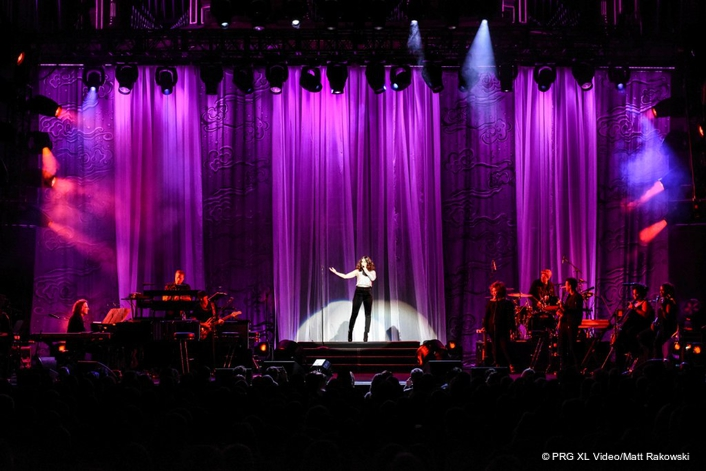 PRG XL Video Supply Idina Menzel World Tour 2017