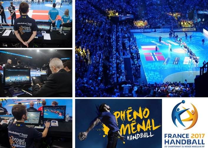IHF Handball World Championship Finals Covered with 20 Channel videoReferee® System