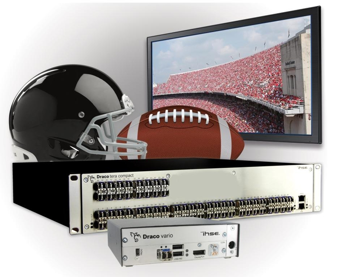 IHSE's Draco tera KVM Switch Systems Installed in Six Game Creek OB Units Provided Workflow Flexibility to Cover Multiple Events at the Big Game