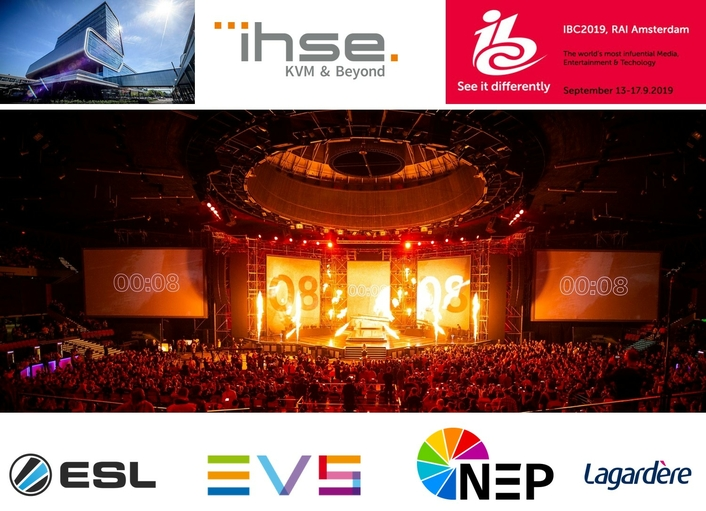 IHSE to sponsor esports event at IBC
