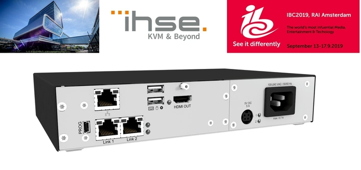 IHSE introduces IP module at IBC 2019