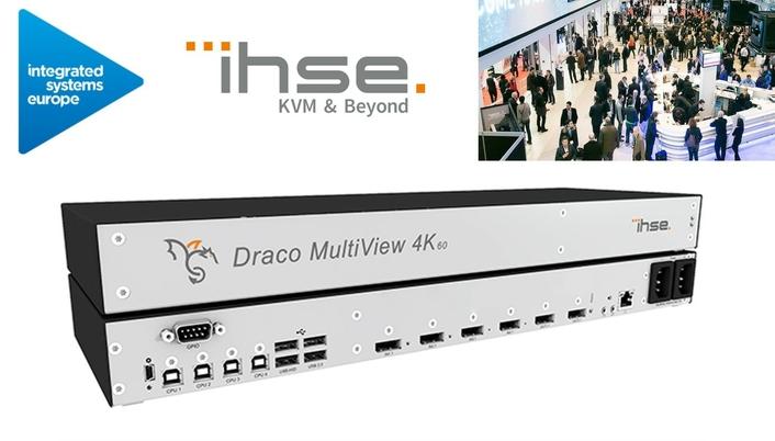 IHSE Draco MultiView4K60 facilitates video surveillance