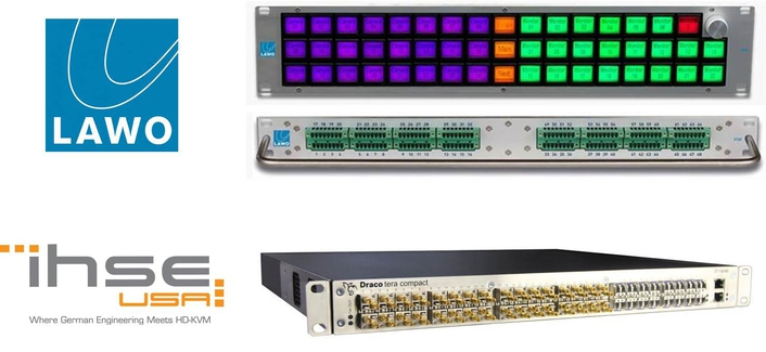 IHSE USA and Lawo Unite Their KVM and Control Systems to Benefit Broadcast and Production Operations