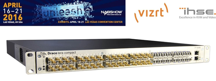 IHSE USA and Vizrt to Demonstrate High-Performance, Long-Distance KVM Connection for Live-Broadcast Workflows at NAB