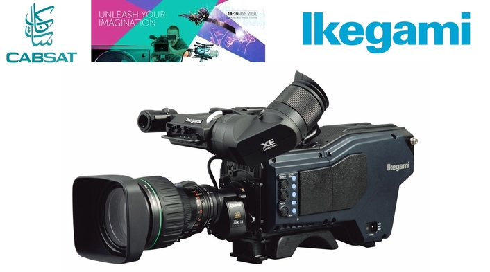 IKEGAMI PRESENTS LATEST CAMERA AND IMAGE PROCESSING TECHNOLOGY AT CABSAT 2018