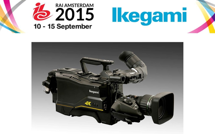 Ikegami Unicam UHD 4K and SHK-810 8K camera heads