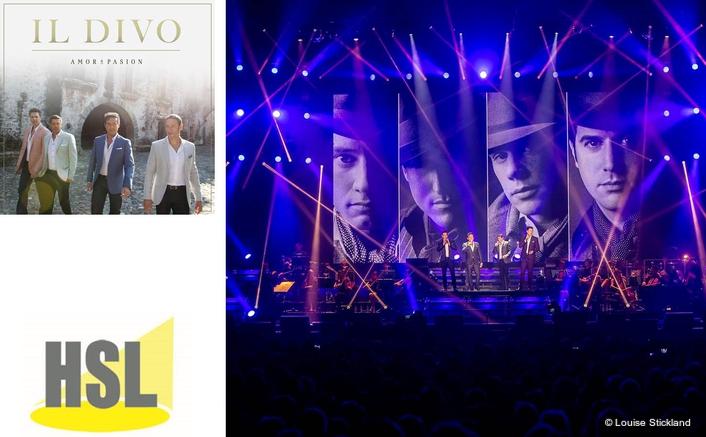 HSL Feels the Amor & Pasión with Il Divo