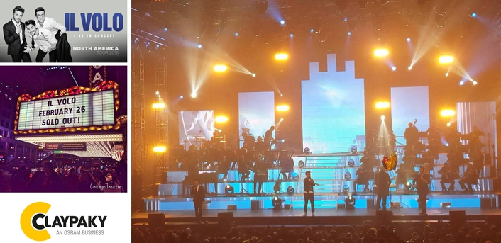 Il Volo 2016 World Tour with Clay Paky