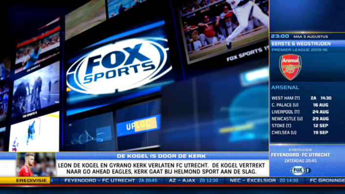 RCS Inks Four-Year Graphics Technology Deal with Fox Sports Netherlands