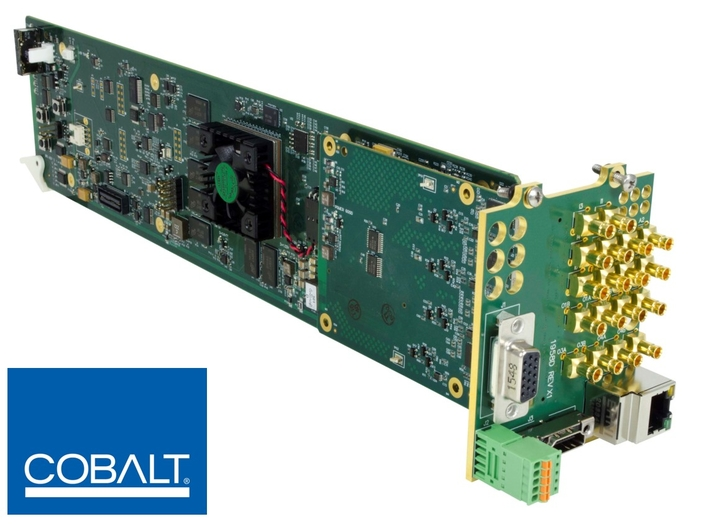 New Cobalt Digital Image Processor Offers Simultaneous HDR/SDR Production