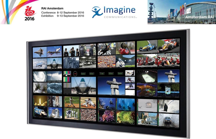 Imagine Communications Brings Media Industry Transformation into Focus at IBC2016