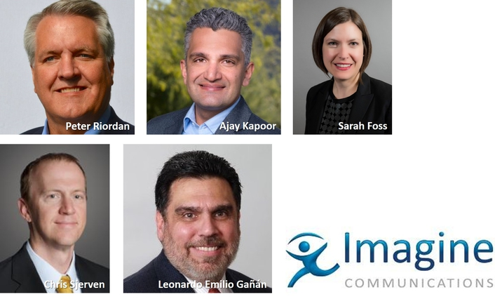 Imagine Communications Bolsters Leadership Team with Key Executive Appointments