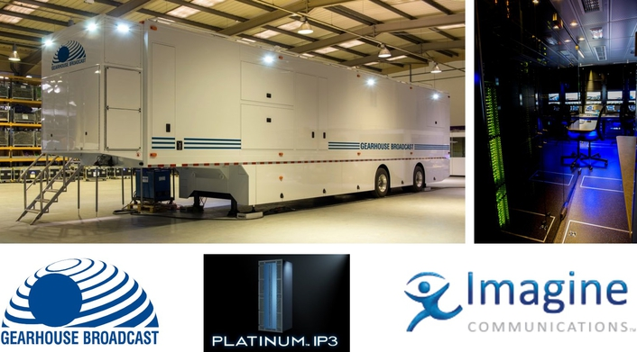 Imagine Communications' IP3 Router at Heart of Gearhouse's new 4K Mobile Unit – Columbus