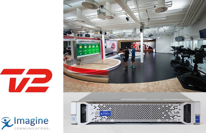 Imagine Communications Outfits TV 2 with Future-Proof Playout Solution