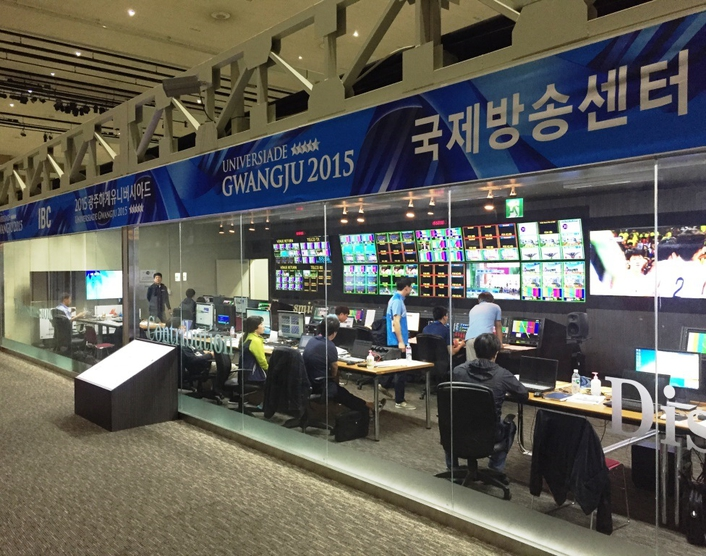 Host broadcaster KBS took care of all broadcast technology to deliver the world feed. KBS once again relied on the VSM Broadcast Control and Monitoring System