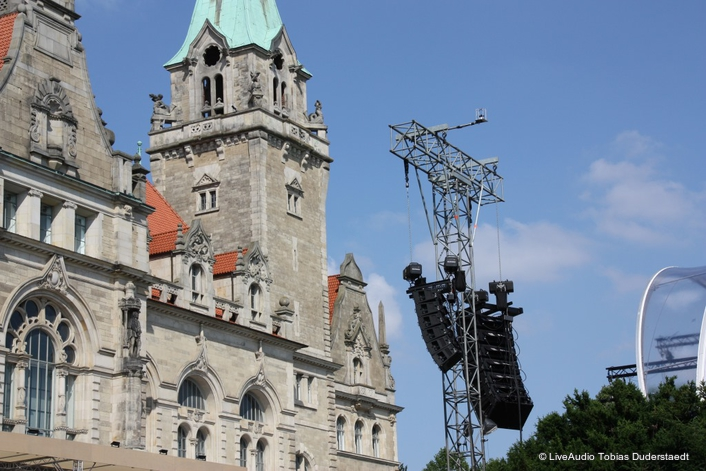 a new production in the NDR Classic Open Air series — took place recently in Hannover's Maschpark