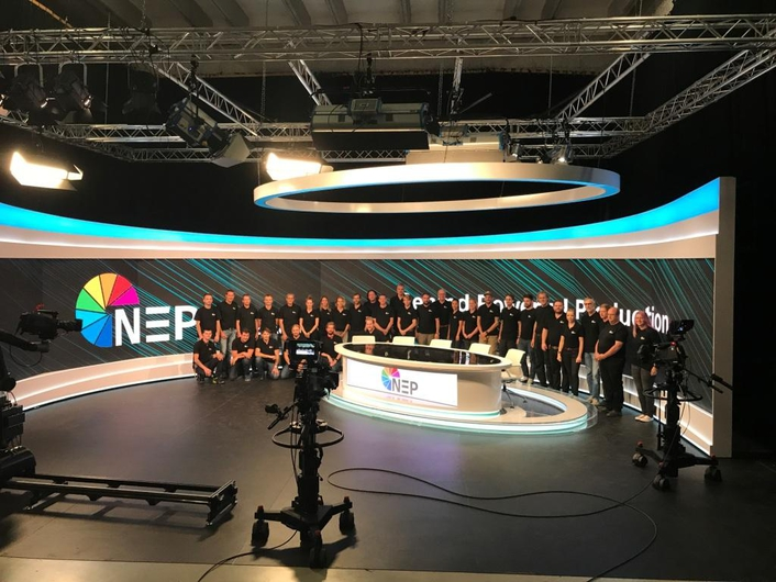 NEP Switzerland and Broadcast Solutions partner in building new 4K/UHD studio and playout facilities in Switzerland