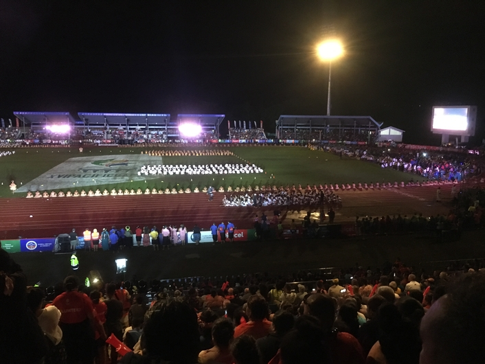 KV2 delivers for Opening and Closing ceremonies of 2019 Pacific Games