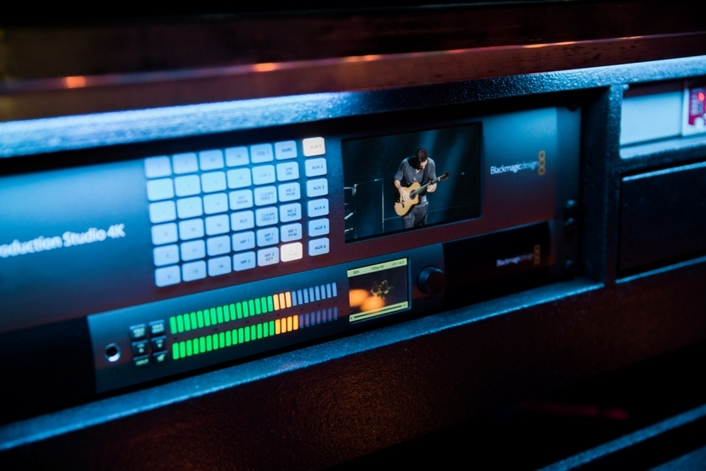 Blackmagic Design Live Solution Used on the 2017 OneRepublic Honda Civic Tour