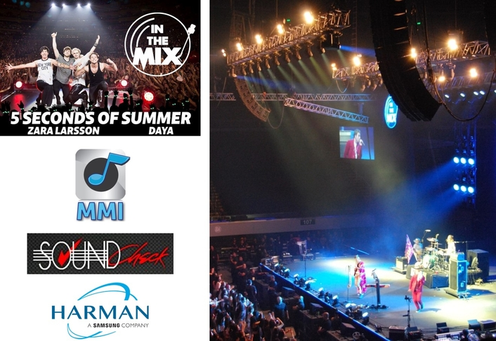 "HARMAN Professional Solutions Powers Eclectic Roster of International Talent at ""In The Mix"" Music Festival"