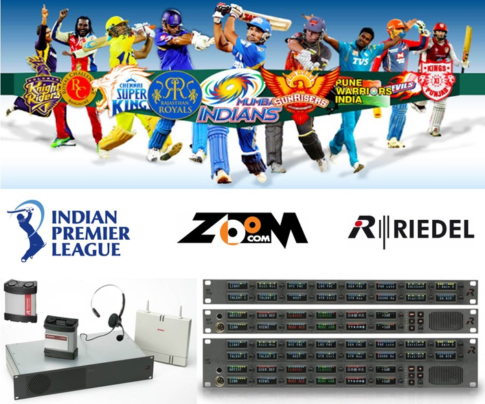 Riedel's Artist Intercom System to Provide Comms for Indian Premier League 2017