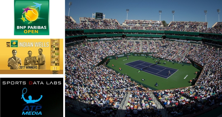 First for Real-Time Biometric Data at the BNP Paribas Open,  Indian Wells Tennis Garden