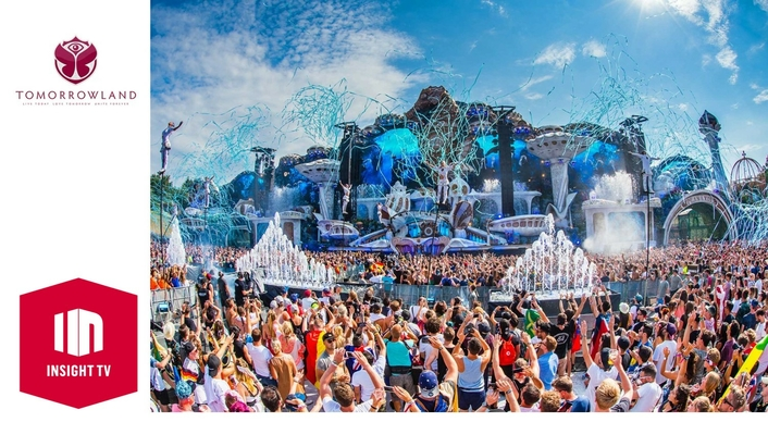 Insight TV produces series around Tomorrowland and world-renowned DJs