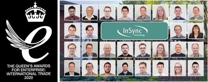 InSync Technology Wins Prestigious Queen's Award for Enterprise for International Trade 2020