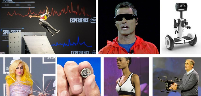 Intel CES 2016 Digitizing the Sports Experience Changing the Landscape of Health and Wellness Unleashing Creativity
