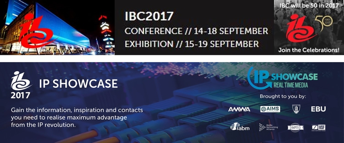 IP Showcase returns to IBC – more partners and products; real-time IP is here and now