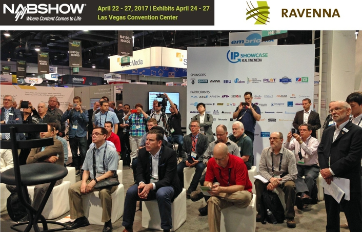 RAVENNA announces hugely successful NAB 2017