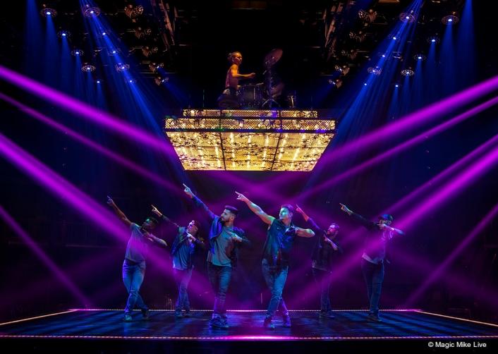 TSL Lighting Turns it On for Magic Mike Live Australia