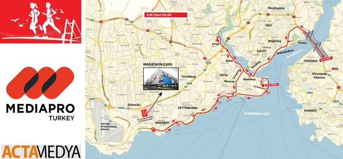 ACTA Medya provides live TV coverage of the Istanbul Marathon