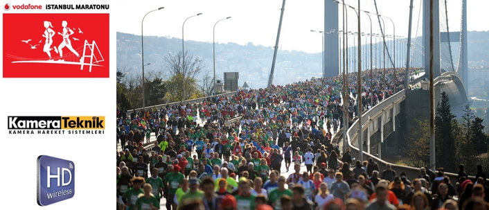 HDwireless realizes Live-Broadcast  from the Istanbul-Marathon